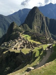 Trekking to Machu Picchu on the INca Trail