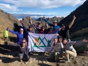 Ian Taylor Trekking on the Inca Trail
