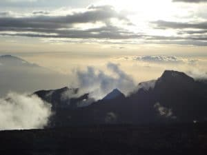 Climbing Kilimanjaro for the second time.
