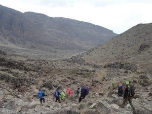 The Lemosho Route up Kilimanjaro
