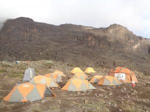 Barranco Camp on Kilimanjaro