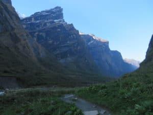 Daily distances on the Annapurna Base Camp Trek