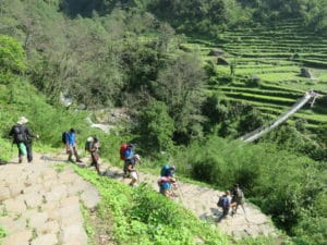 The Journey to Annapurna Base Camp