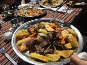 The Food on the Inca Trail with Ian Taylor Trekking