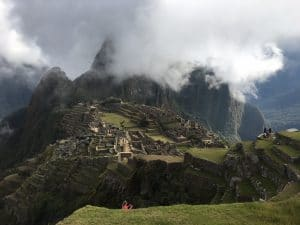 The city of Machu Picchu