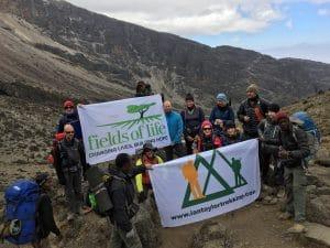 The Barranco valley on Kilimanjaro