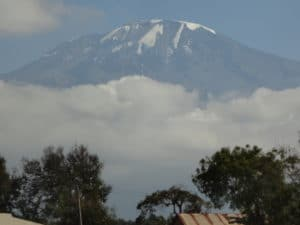 Kilimanjaro from the Town Below