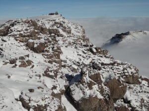 Looking Towards the Summit of Kilimanjaro