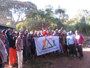 The Ian Taylor Trekking Kilimanjaro Team