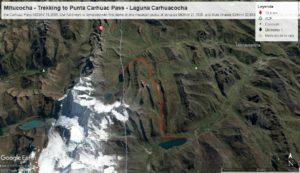 Daily distances on the Huayhuash Circuit Trek