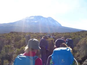 What is the best route to climb Mount Kilimanjaro in Tanzania