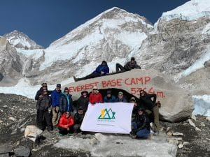 Reaching the Base of Everest