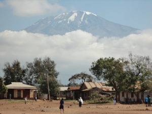 What is the most Beautiful route up Mount Kilimanjaro