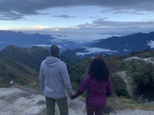 Taking in the view at Phuyupatamarca