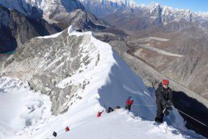 My experience climbing Mera and Island peaks