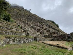Intipata close to Machu Picchu