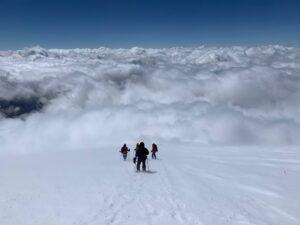 4,800m on Mount Elbrus