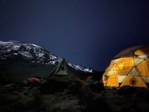 The stars are out on Kilimanjaro