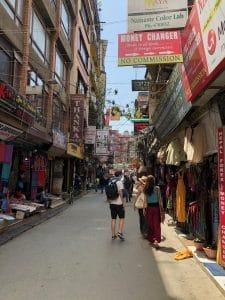 Thamel district Kathmandu