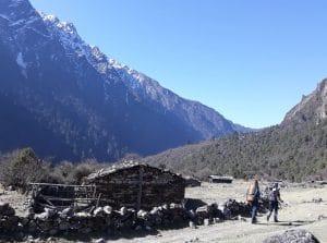 The Himalaya's near Kanchenjunga