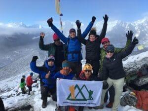 Kala Patthar 18,520 feet.