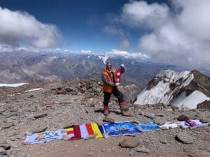 Sherpa Power on Aconcagua