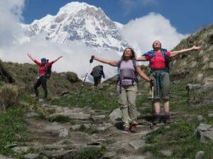 Below Annapurna Base Camp