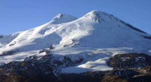 Southern side of Mount Elbrus