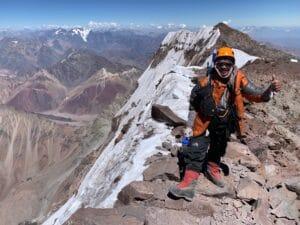 Ang Kami Sherpa on Aconcagua