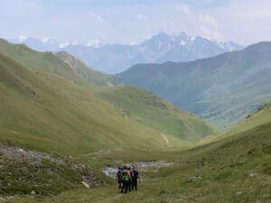 Hiking around Mount Elbrus