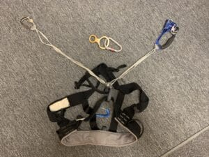 My climbing harness for Island Peak