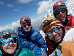 Ang Kami Sherpa on Island Peak