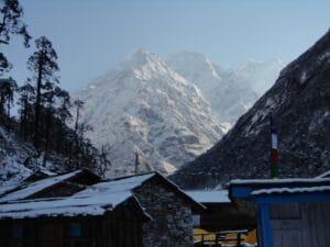 Mera Peak from Khote