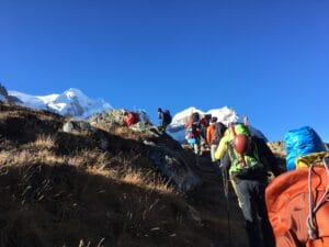 Acclimatization above Khare
