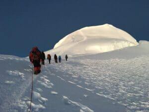 The summit of Mera Peak