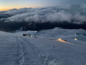 Sunrise on Mount Elbrus