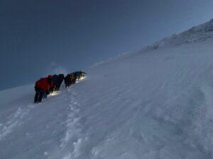 The slopes of Mount Elbrus