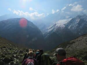 Leaving Annapurna Base Camp