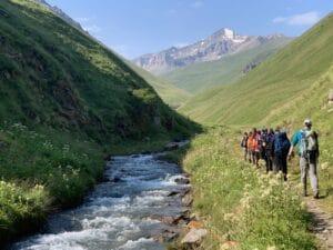 Eastern slopes of Mount Elbrus
