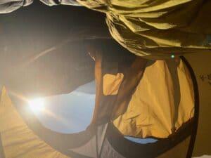 Morning wake up on Aconcagua