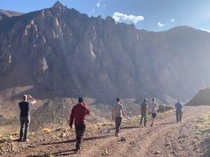 Hiking up to 9,000 feet