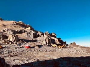 Camp Colera on Aconcagua