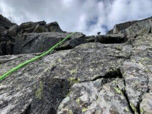 Climbing on Quandary Peak