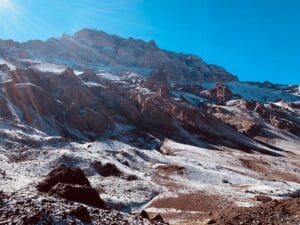 Aconcagua from Base Camp