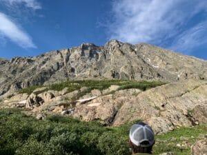 The North Face of Quandary Peak