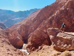 Unique Aconcagua scenery
