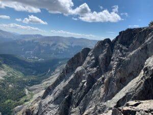 Looking off Quandary Peak