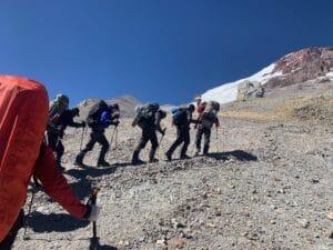 Camp 2 to Camp 3 Aconcagua