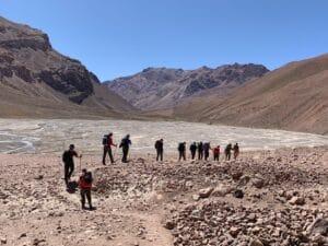 Hiking to Casa de Piedra