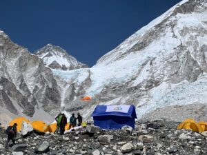Sleeping at Everest Base Camp